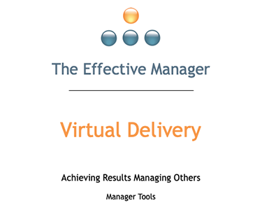 Virtual Effective Manager Training